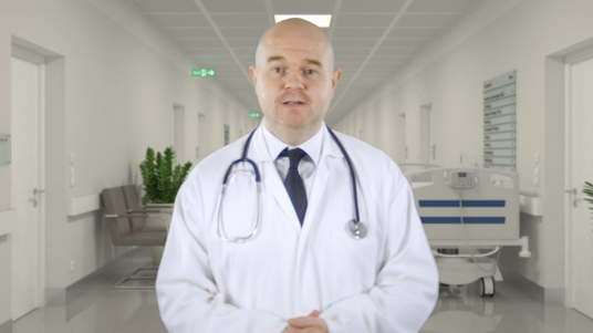 be your scientist doctor spokesperson actor in for medical or health video