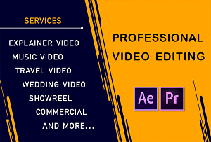 I will provide video editing service Within 24 Hours