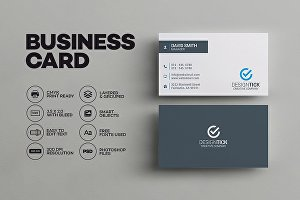 I will design minimalist business card within 24 hours