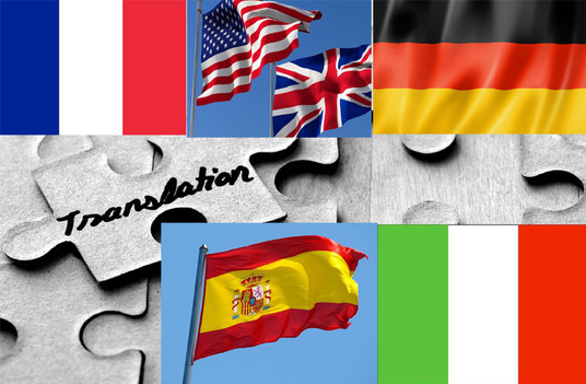 do german, english, french, spanish and italian translations