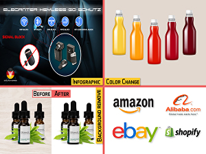 I will do eCommerce product image background remove and retouch