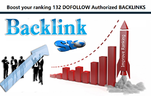 I will Boost the Ranking of your website  through Dofollow authorized dominating backlinks