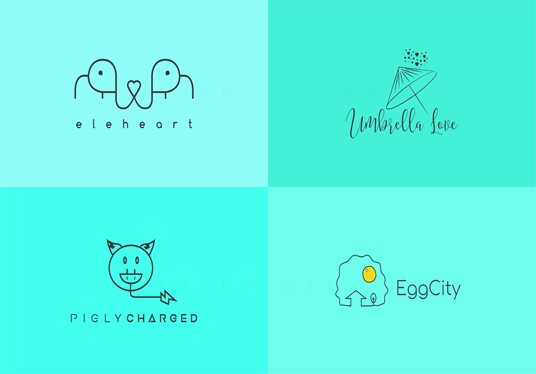 design 2 modern logo design in 24 hours