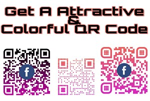 I will create a colorful QR for your business