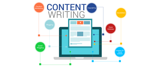 write all your website content