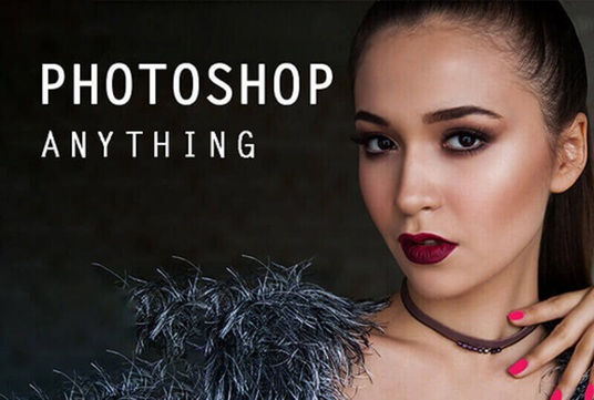 do any kind of photoshop editing quickly