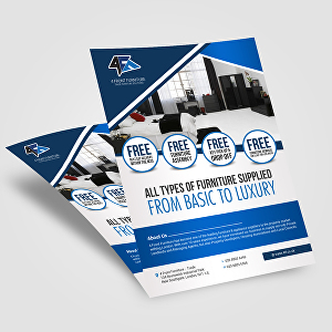 I will design all kinds of professional flyer design for your organization or business