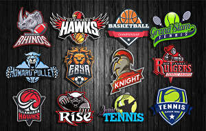 I will design sports logo for teams, clubs and business