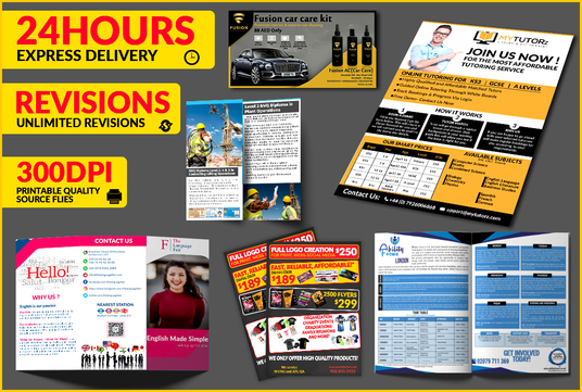 design  business flyer and poster