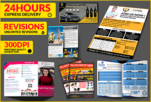 I will design  business flyer and poster