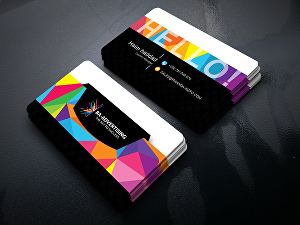 I will create simple, modern and attractive business card design
