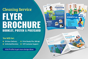 I will design amazing brochure, flyer, postcard, booklet, catalog