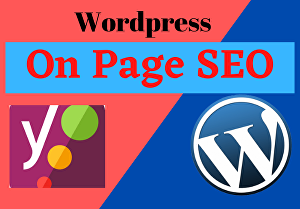 I will do wordpress on page SEO for your website by yoast