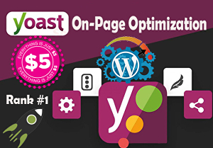 I will do yoast on-page optimization of your WordPress website