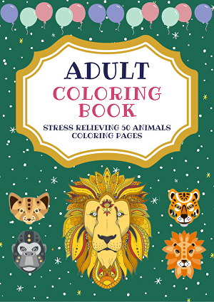 I will create coloring books for self publishing on amazon KDP