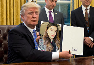 I will Make Donald Trump hold your photo