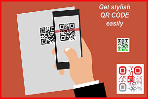 I will design stylish and accurate qr code
