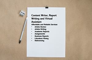 I will Write, Rewrite, Review your academic or professional tasks