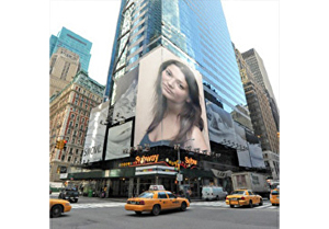 I will put your pic on billboard