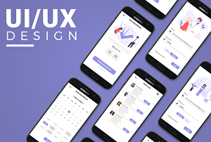 I will design amazing UI/UX  3 Screens of your mobile or 1 Screen of web application