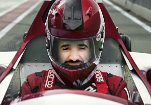 I will Place your Picture into Formula One Racer Helmet