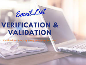 I will do Email List Cleansing to Find out Only Valid Email Addresses