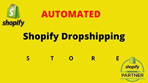 I will build professional shopify store & shopify website