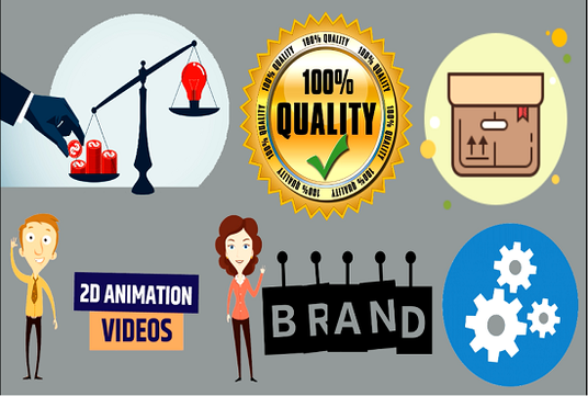 create 2d animation video for business