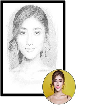I will pencil sketch your photo