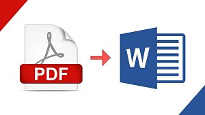 I will change PDF file to text document