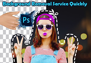 I will Give you Photo Background Removal Service Quickly