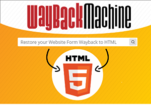I will restore any website into HTML from Wayback machine archive