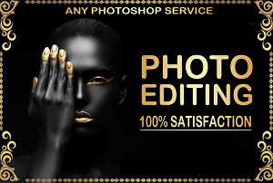 I will do any photoshop editing work within 24 hours
