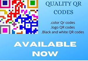 I will Create High Quality and stunning QR code