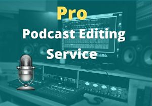 I will provide pro podcast editing service in 48 hours