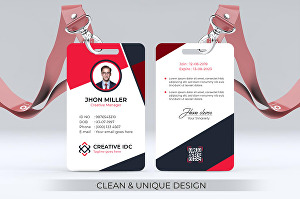 I will design Unique Id Card within 24 hours