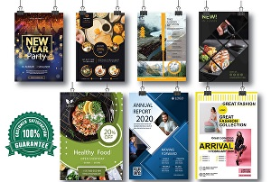 I will Design Creative and Professional Flyer, Brochure, Poster