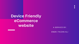 I will develop a responsive eCommerce store or website