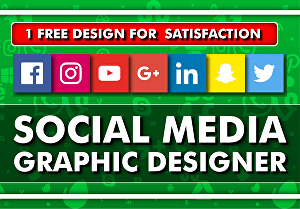 I will be your social media graphic designer