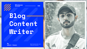 I will provide unique content for your blog and websites.