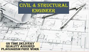 I will help you in civil engineering assignments and projects