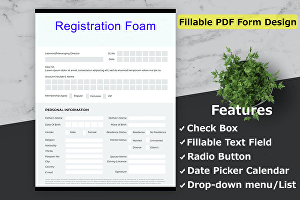 I will create fillable PDF form and design professionally