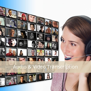 I will transcribe up to 30 minutes of audio from any video or audio file in 24 hours