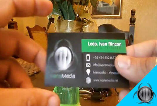 design your augmented reality interactive business card