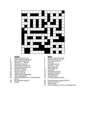 I will Make you 50 never been published crossword puzzles