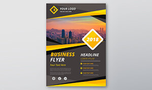 I will design a one page full color flyer