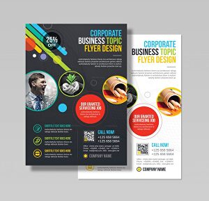 I will design an eye catching flyer or brochure