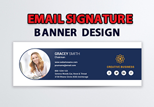 I will do Professional email signature with unlimited revisions