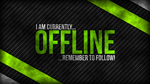 I will make overlay, starting soon, brb, offline screen for twitch