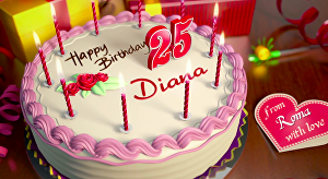 I will create cool animation for happy birthday